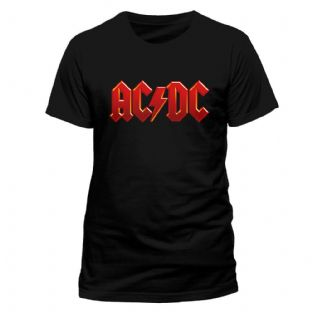 AC/DC T Shirt (Small) (Mens)